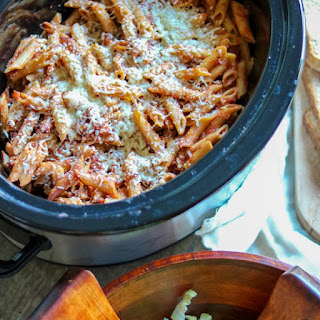 Baked Ziti for the Slow Cooker.