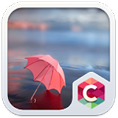 Pink Umbrella Theme for phone