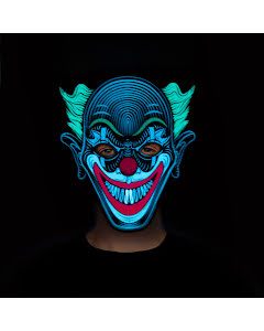 Led-mask, clown