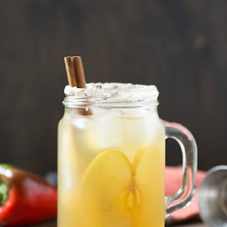 Salted Caramel Apple Cocktail