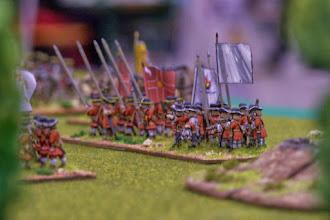Photo: Il reggimento irlandese del Gran Priore (miniature Lurkio, materiale scenico autocostruito)