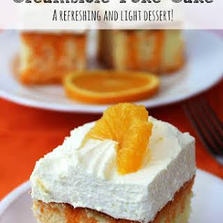 Orange Creamsicle Cake.