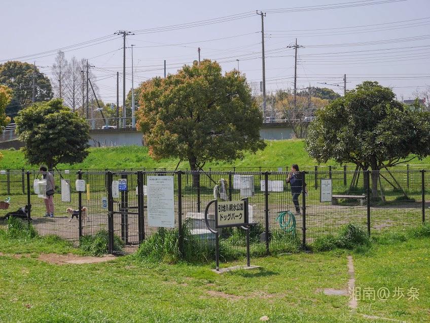 引地川親水公園ドッグパーク