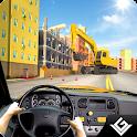 City Bus Construction Driver icon
