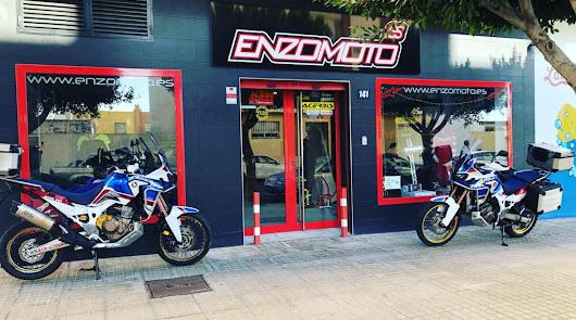 Enzomoto, todo lo que necesitas para tu moto de campo o carretera