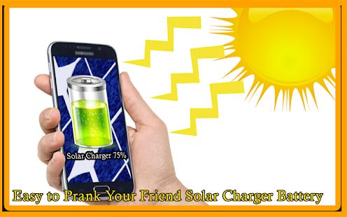 Solar Charger Battery Prank - náhled