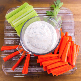 Homemade Buttermilk Ranch Dip and Dressing.