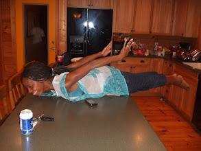 Photo: K planking