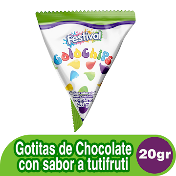 Chocolate festival GOLO   CHIPS x20g