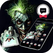 Spooky Joker Clown Poker Theme