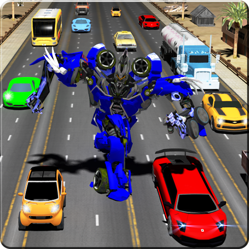 Robot Transform Traffic Racer (game)