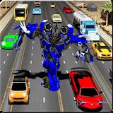 Robot Transform Traffic Racer