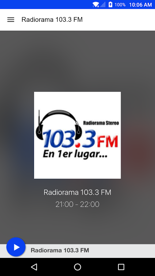 Radiorama 103.3 FM- screenshot