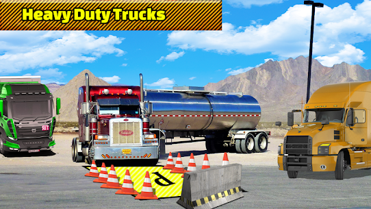 Truck Parking Adventure 3D:Impossible Driving 2018 2