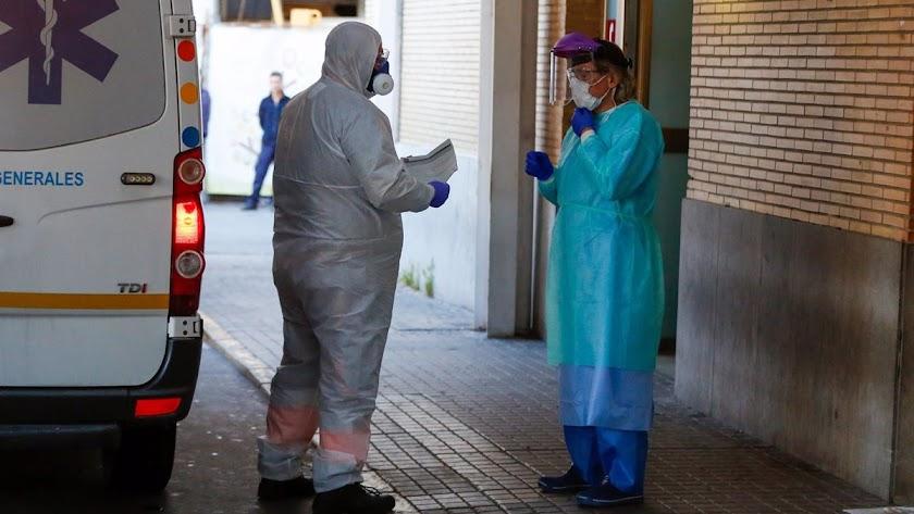 Los hospitalizados siguen en aumento en Almería.