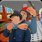 Supermarket Robbery Crime - Mafia Gangster Escape icon