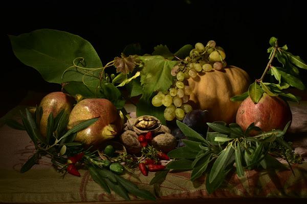 Cesto di frutta di Girolamo Liga