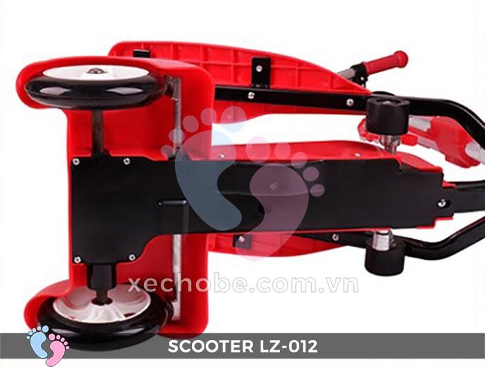 Xe trượt Scooter đạp chân LZ-012 có đèn, nhạc 18