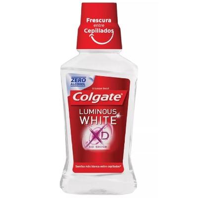 Enjuague Bucal Colgate Luminous White 250Ml.