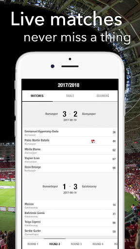 Live Football - for Super Lig Results 1.4.1 screenshots 1