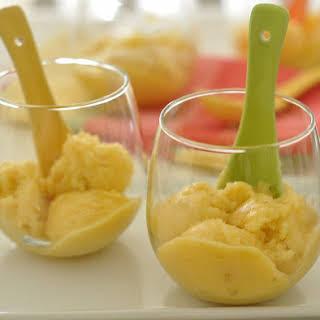 Pineapple Sorbet.