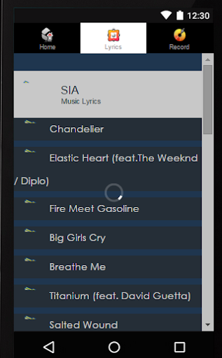 Lyrics Sia