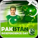 14 August Photo Frame 2021 Pakistan Flag Frame icon