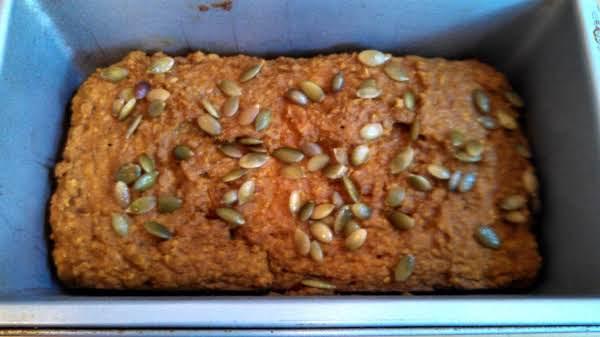 Vegan Pumpkin Quinoa Flour Bread