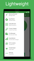Screenshot of Clean My Android