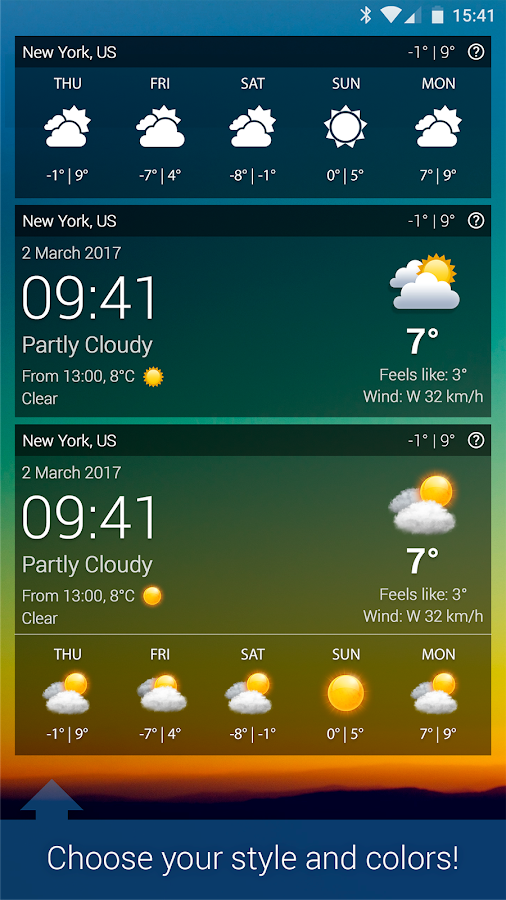 Screenshots of Weather XL PRO for iPhone