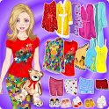 Doll Dress Up - Pajama Party icon