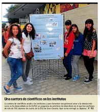 Photo: Portada del periódico Canarias7 del pasado 21.05.2015