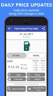 Petrol Diesel Price India - Daily Update - náhled