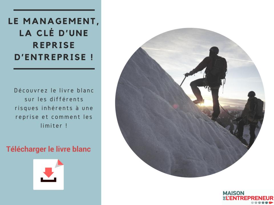 Le MANAGEMENT, la clé d'une reprise d'entreprise