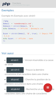 PHP Fonctions Hors-ligne- screenshot thumbnail