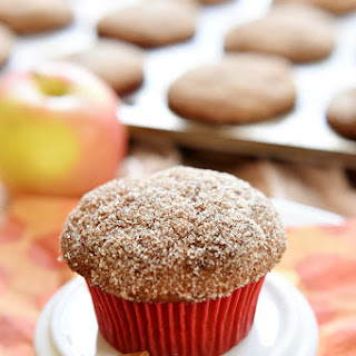 Whole Wheat Apple Cinnamon Muffins.