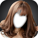 Korean Kpop Girl Hairstyle Photo Montage icon