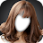 Korean Kpop Girl Hairstyle Photo Montage logo
