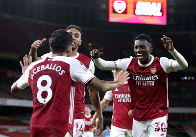 Premier League : Eddie Nketiah donne la victoire à Arsenal dans le derby de Londres