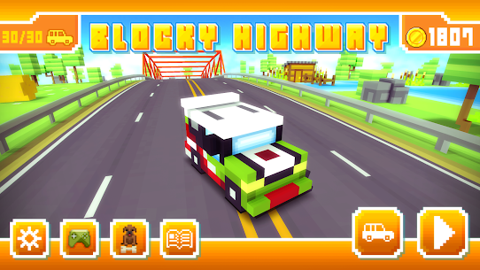 Blocky Highway: Traffic Racing App Latest Version Download For Android and iPhone 6