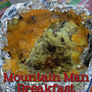 Mountain Man Dutch Oven Breakfast