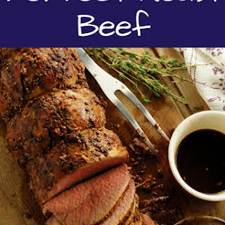 Roast Beef Rub Recipe – Eye Of Round.