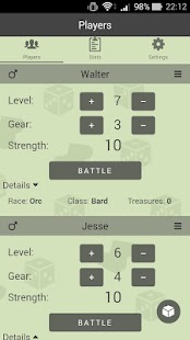 Level Counter for Munchkin - náhled