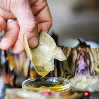 Roasted Artichokes Stuffed with Garlic and Sage Recipe