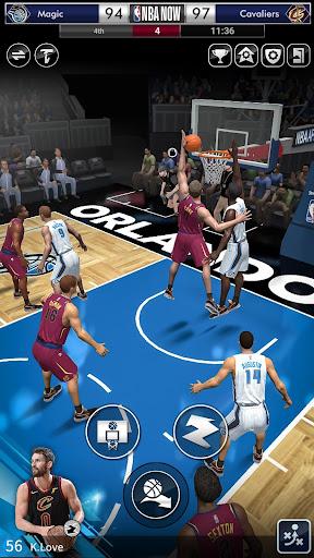 Code Triche NBA NOW, jeu mobile de basket apk mod screenshots 6