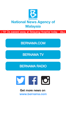 BERNAMA Mobile - screenshot