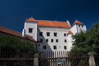 Photo: Telczański pałac wybudowany w 2 połowie XIV wieku.