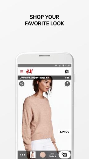 H&M screenshot