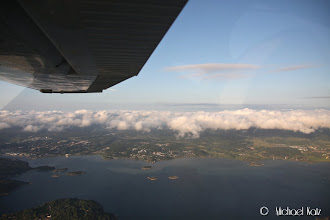 Photo: Lave skyer over vestkysten av Sverige.