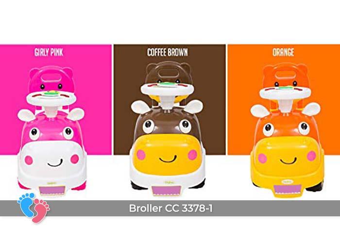 Xe chòi chân có nhạc Broller CC-3378-1 4